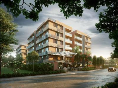 Gallery Cover Image of 2450 Sq.ft 3 BHK Apartment for buy in Deep Indraprasth Living, Bopal for 9800000