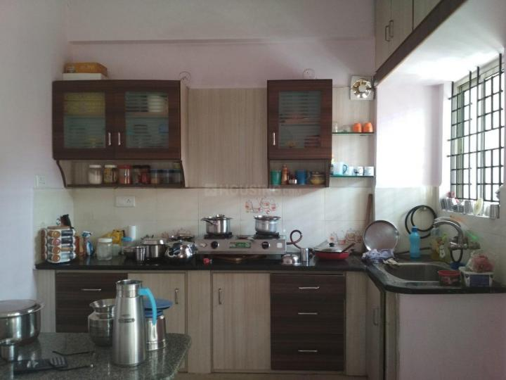 Kitchen Image of 1350 Sq.ft 3 BHK Apartment for rent in Panathur for 23000