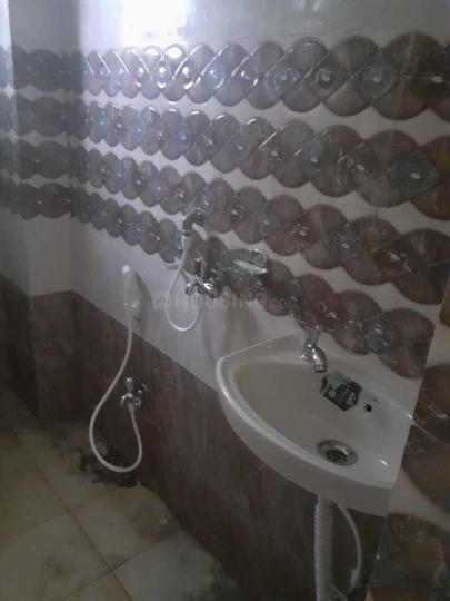 Common Bathroom Image of 450 Sq.ft 1 BHK Apartment for rent in Chinar Park for 5500