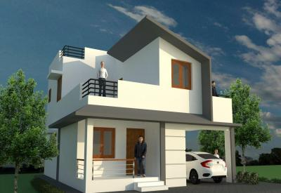 Gallery Cover Image of 1200 Sq.ft 2 BHK Independent House for buy in Saravanampatty for 2500000