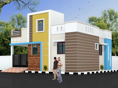 Gallery Cover Image of 1250 Sq.ft 3 BHK Independent House for buy in Porur for 8500000