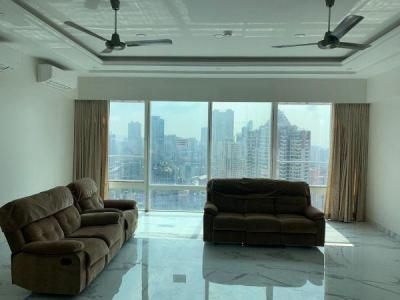 Gallery Cover Image of 1605 Sq.ft 4 BHK Apartment for rent in Indiabulls Blu Tower A, Worli for 350000