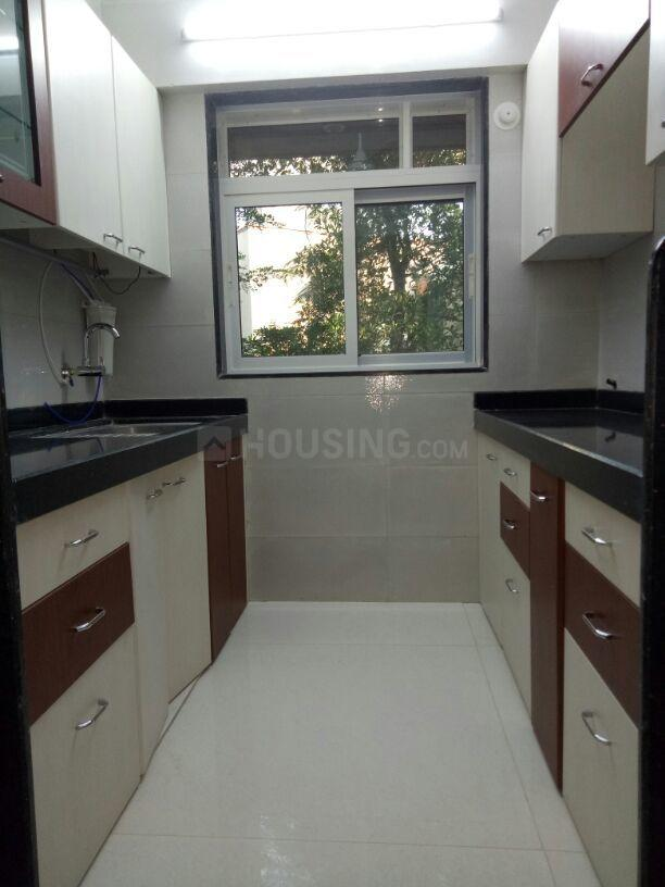 Kitchen Image of 780 Sq.ft 1 BHK Apartment for rent in Chembur for 35000