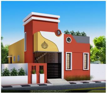Gallery Cover Image of 550 Sq.ft 1 BHK Independent House for buy in Kovur for 3200000
