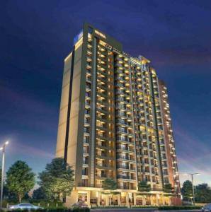Gallery Cover Image of 630 Sq.ft 1 BHK Apartment for buy in Squarefeet Metropolis Rivera, Kasarvadavali, Thane West for 5500000