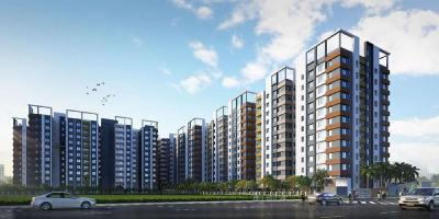 Gallery Cover Image of 1210 Sq.ft 3 BHK Apartment for buy in Windmere, Madhyamgram for 4056250