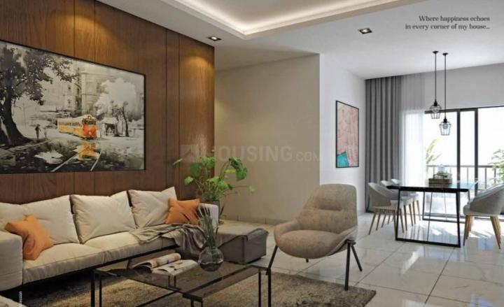 Living Room Image of 1484 Sq.ft 3 BHK Apartment for buy in Srijan Natura, New Alipore for 8458800