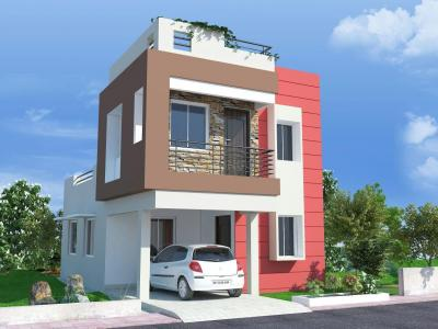 Gallery Cover Image of 1255 Sq.ft 3 BHK Villa for buy in Hanspal for 3400000