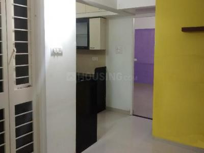 Gallery Cover Image of 600 Sq.ft 1 BHK Apartment for rent in Goel Ganga Kalash, Kalas for 15500