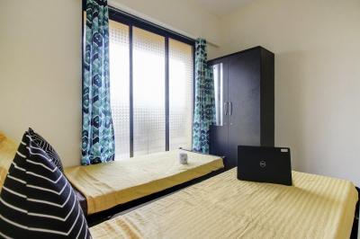 Bedroom Image of Oyo Life Mum1429 in Airoli
