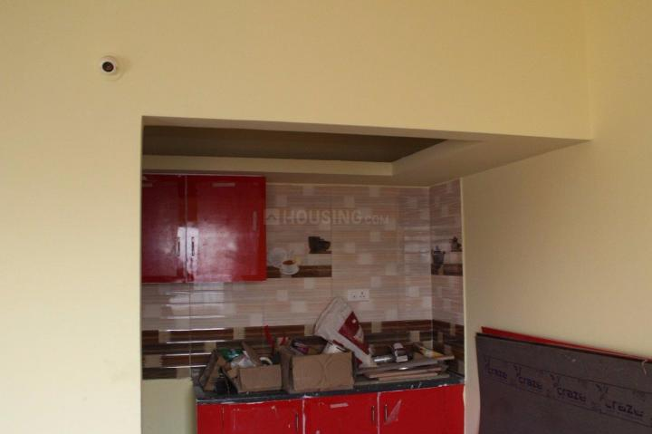 Kitchen Image of 650 Sq.ft 1 BHK Independent Floor for rent in Battarahalli for 7000