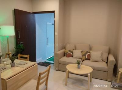 Gallery Cover Image of 480 Sq.ft 1 BHK Apartment for buy in Raunak Heights, Kasarvadavali, Thane West for 5500000