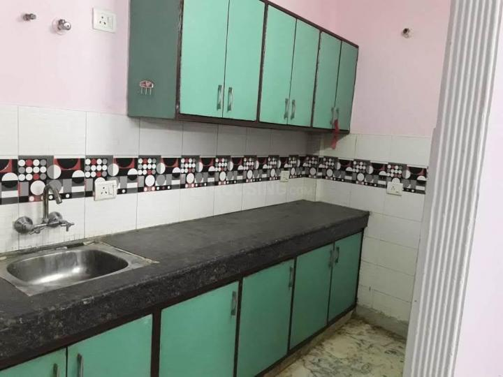 Kitchen Image of 600 Sq.ft 2 BHK Independent Floor for rent in Neb Sarai for 12000