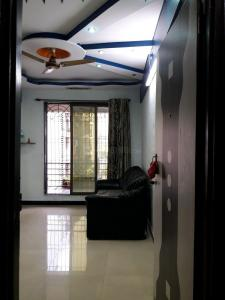 Gallery Cover Image of 640 Sq.ft 1 BHK Apartment for rent in Airoli for 20000