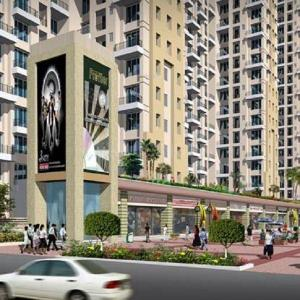 Gallery Cover Image of 1100 Sq.ft 2 BHK Apartment for rent in DB Ozone, Dahisar East for 17000