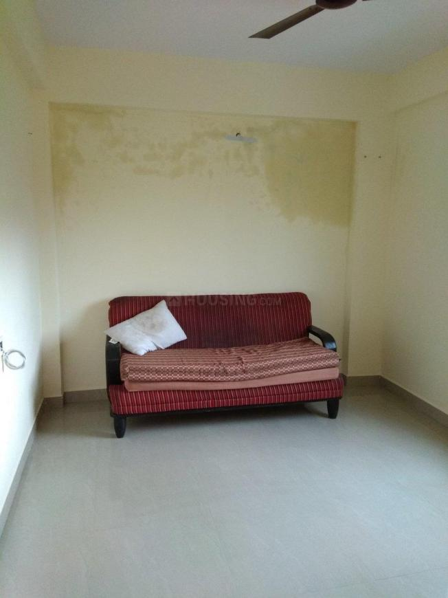 Living Room Image of 650 Sq.ft 1 BHK Apartment for rent in Wakad for 14000