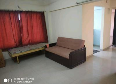 Gallery Cover Image of 650 Sq.ft 1 BHK Apartment for rent in Parshwanath Galaxy, Kasarvadavali, Thane West for 14000