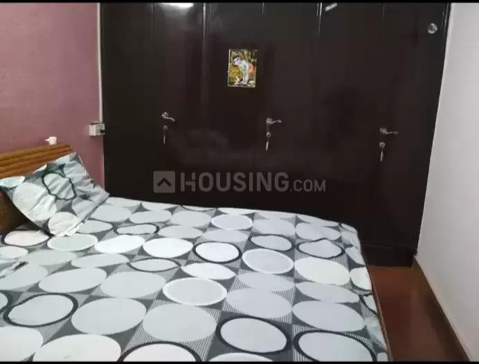 सुभाष नगर में फ़ीमेल फ्लैटमेट के बेडरूम की तस्वीर