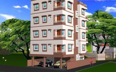 Gallery Cover Image of 800 Sq.ft 2 BHK Apartment for buy in Baguiati for 2930000