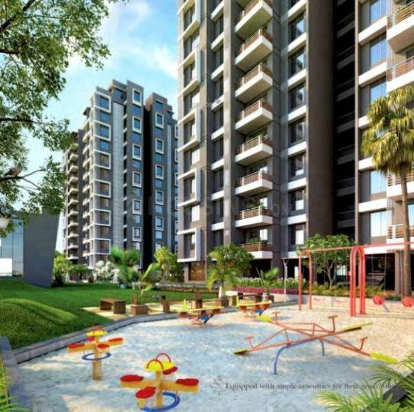 Building Image of 3450 Sq.ft 4 BHK Apartment for rent in Thaltej for 100000