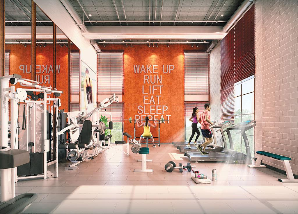 Gym Image of 1194 Sq.ft 3 BHK Apartment for buy in Tangra for 5671500