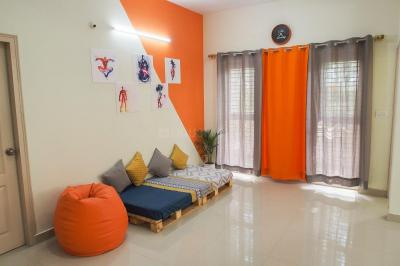 Gallery Cover Image of 1200 Sq.ft 1 BHK Apartment for rent in Basapura for 15000
