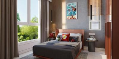 Gallery Cover Image of 530 Sq.ft 2 BHK Apartment for buy in Kalpataru Paramount A, Thane West for 10500000