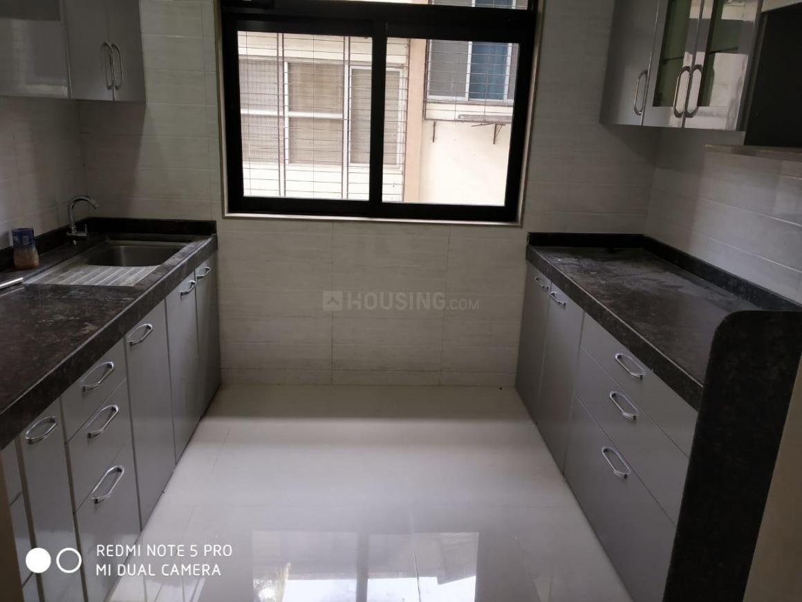 Kitchen Image of 1050 Sq.ft 2 BHK Apartment for rent in Parel for 44000