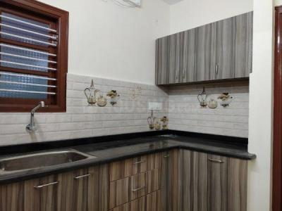 Gallery Cover Image of 600 Sq.ft 1 BHK Independent Floor for rent in Hebbal for 10000