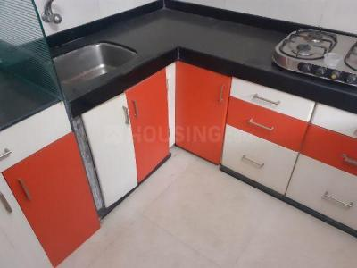 Gallery Cover Image of 685 Sq.ft 1 BHK Apartment for rent in Kopar Khairane for 22000