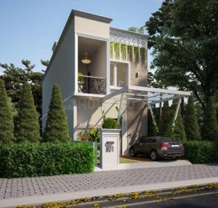 Gallery Cover Image of 968 Sq.ft 2 BHK Villa for buy in Bagaluru for 3600000