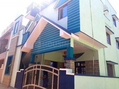 Gallery Cover Image of 1200 Sq.ft 3 BHK Independent Floor for rent in Jalahalli West for 14500