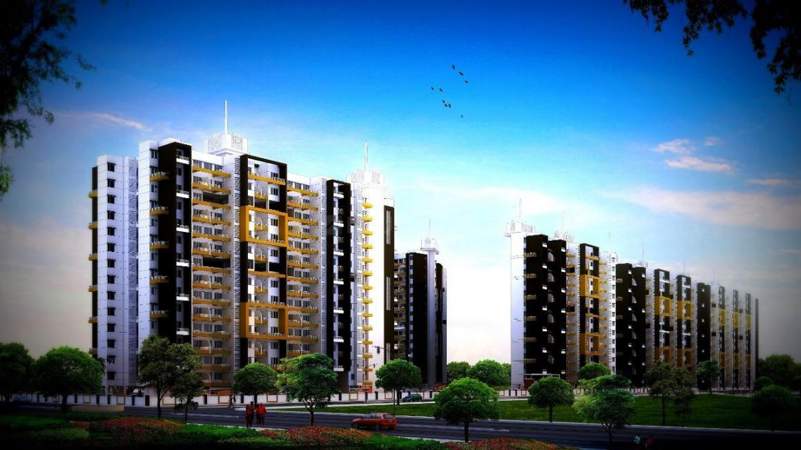 Building Image of 1153 Sq.ft 3 BHK Apartment for buy in Moshi for 5050000