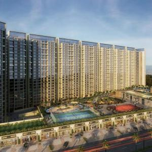 Gallery Cover Image of 1245 Sq.ft 2 BHK Apartment for rent in Airoli for 26000