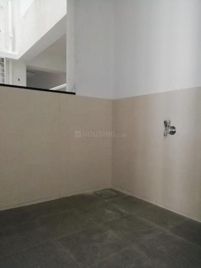 Kitchen Image of 630 Sq.ft 1 BHK Apartment for rent in Dhanori for 14000