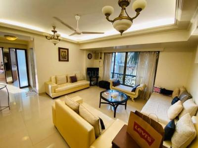 Gallery Cover Image of 1000 Sq.ft 2 BHK Apartment for rent in Silver Sands, Bandra West for 90000