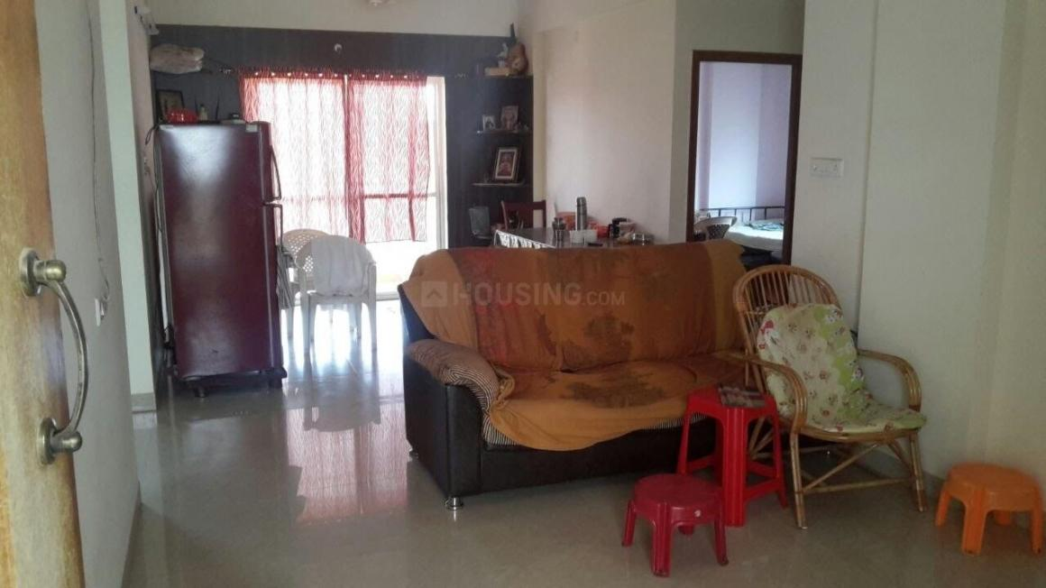 Living Room Image of 1300 Sq.ft 3 BHK Apartment for rent in Whitefield for 20000