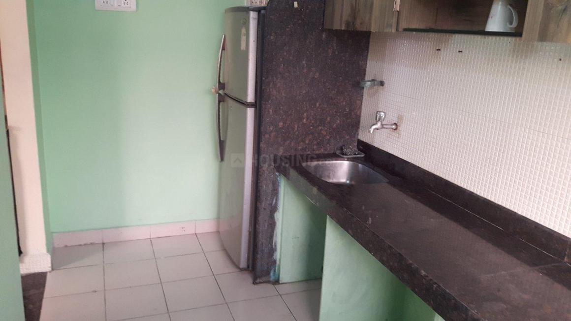 Kitchen Image of 550 Sq.ft 1 BHK Apartment for rent in Ghansoli for 22000