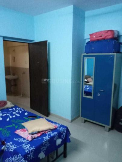 ठाणे वेस्ट में गर्ल्स पीजी मानपाडा यन्ह में बेडरूम की तस्वीर