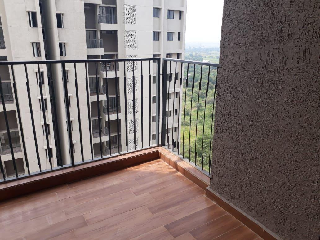 Living Room Image of 675 Sq.ft 2 BHK Apartment for rent in Dombivli East for 9300