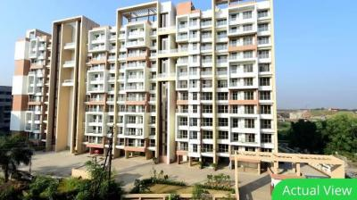 Gallery Cover Image of 750 Sq.ft 1 BHK Apartment for rent in La Mer Residency, Panvel for 10000