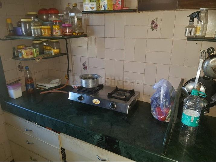 Kitchen Image of 600 Sq.ft 1 BHK Apartment for rent in Goregaon West for 23000