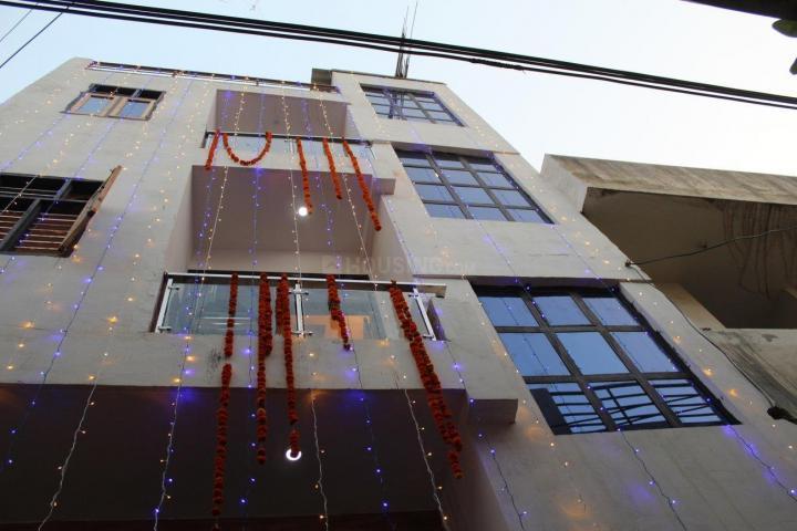 पालम विहार एक्सटेंशन में गुप्ता पीजी के बिल्डिंग की तस्वीर