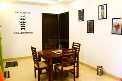 Dining Area Image of PG In Sector 53 in DLF Phase 5
