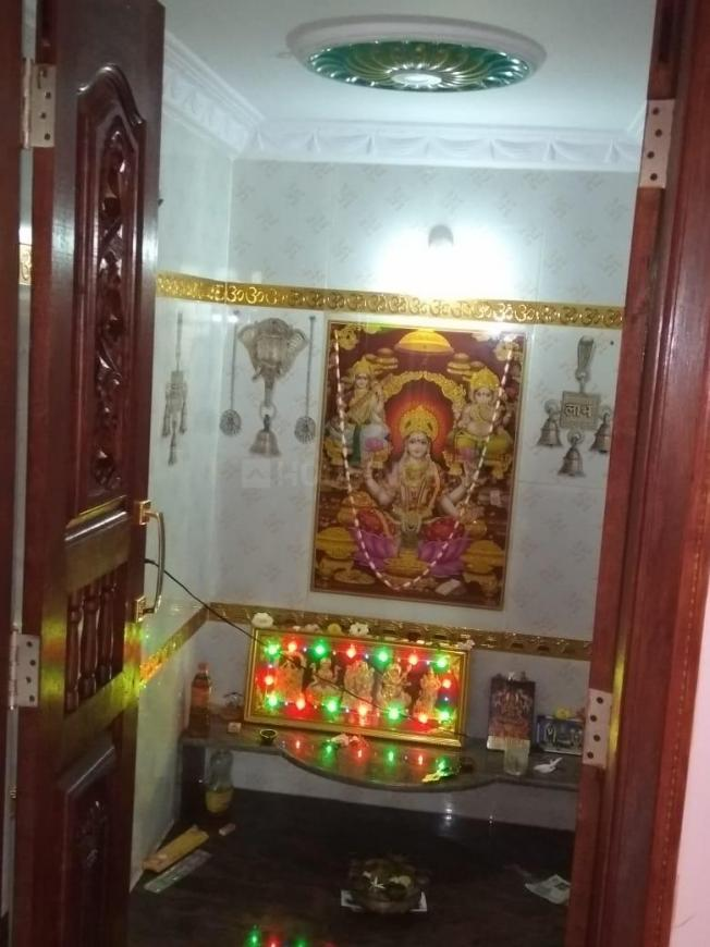 Pooja Room Image of 600 Sq.ft 1 BHK Independent Floor for rent in Hosur for 4500