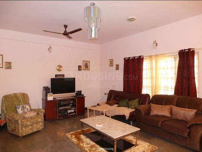 Living Room Image of 2400 Sq.ft 3 BHK Villa for rent in Electronic City for 30000