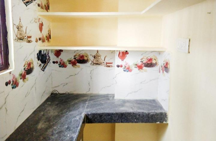 Kitchen Image of 300 Sq.ft 1 BHK Independent House for rent in Yousufguda for 13300