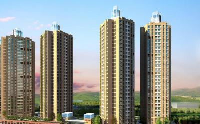 Gallery Cover Image of 900 Sq.ft 2 BHK Apartment for buy in Orovia Phase 1, Thane West for 11200000