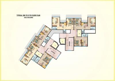 Gallery Cover Image of 610 Sq.ft 1 BHK Apartment for buy in Shashwat Park, Bhandup West for 6800000