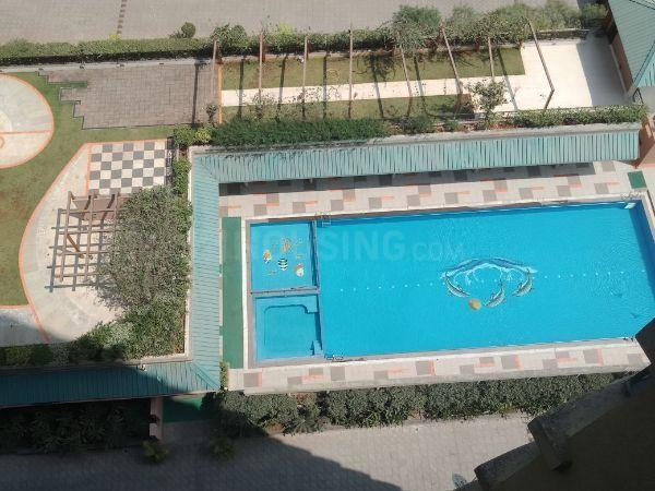 Swimming Pool Image of 14000 Sq.ft 3 BHK Apartment for rent in Thane West for 36000